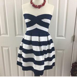 NWT Sans Souci cocktail dress Size L